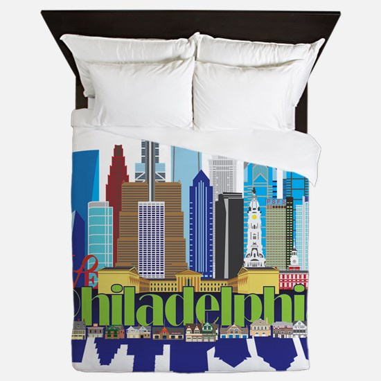 Philly New Icon Queen Duvet
