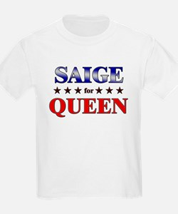 SAIGE for queen T-Shirt