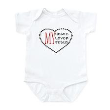 Homie Lover Jesus Infant Bodysuit