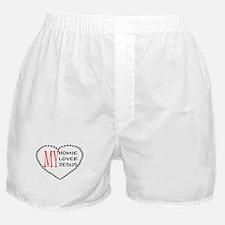Homie Lover Jesus Boxer Shorts