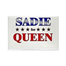 SADIE for queen Rectangle Magnet