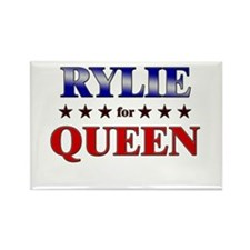 RYLIE for queen Rectangle Magnet