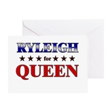 RYLEIGH for queen Greeting Card