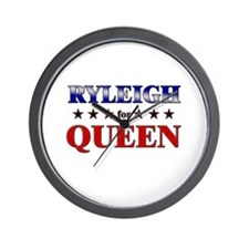 RYLEIGH for queen Wall Clock