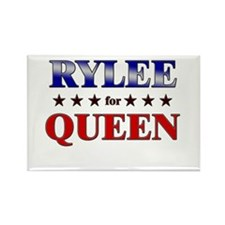 RYLEE for queen Rectangle Magnet