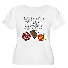 Support Breastfeeding moms, Goodbye... T-Shirt