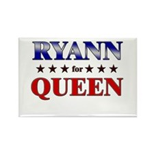 RYANN for queen Rectangle Magnet