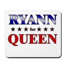 RYANN for queen Mousepad