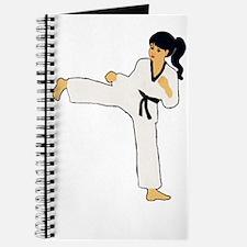 Cool Black power fist Journal