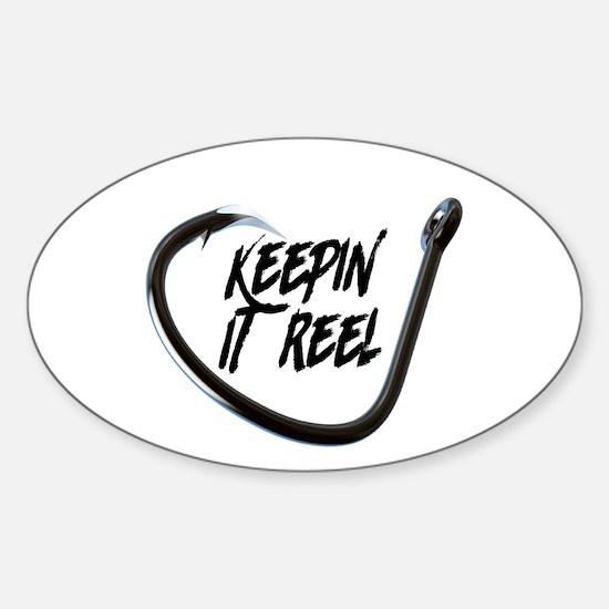 fishing, keepin it reel Decal