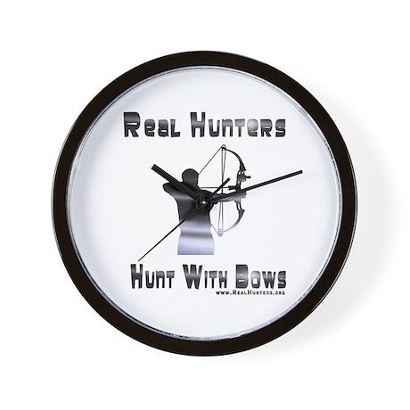 Bow Hunter Shirts Gifts Wall Clock