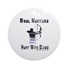 Bow Hunter Shirts Gifts Ornament (Round)