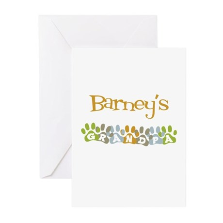 Barney's Grandpa Greeting Cards (Pk of 10)