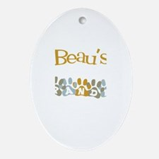 Beau's Grandpa Oval Ornament