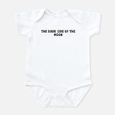 The dark side of the moon Infant Bodysuit