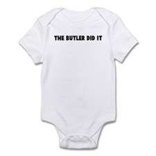 The butler did it Infant Bodysuit
