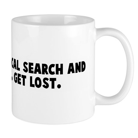 Support your local search and Mug