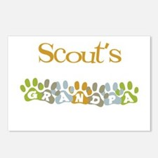 Scout's Grandpa Postcards (Package of 8)
