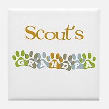 Scout's Grandpa Tile Coaster
