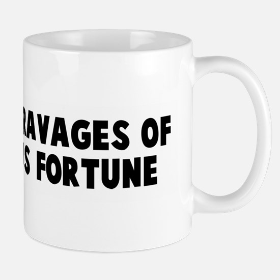 Suffer the ravages of outrage Mug