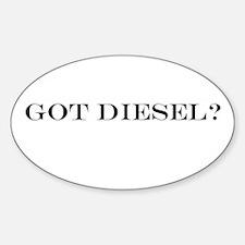 Got Diesel? Oval Decal