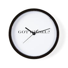 Got Diesel? Wall Clock