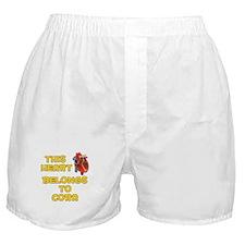 This Heart: Cora (A) Boxer Shorts