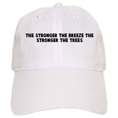 The stronger the breeze the s Baseball Cap