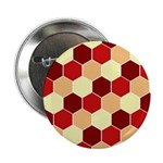 "Retro Scales Geometric Print 2.25"" Button (10 pack"
