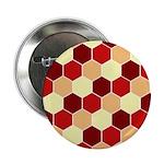 "Retro Scales Geometric Print 2.25"" Button (100 pac"