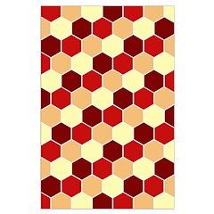 Retro Scales Geometric Print Posters