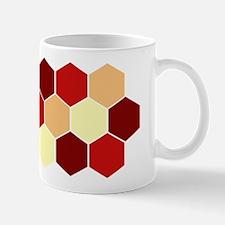 Retro Scales Geometric Print Ceramic Coffee Mug