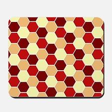 Retro Scales Geometric Print Mousepad
