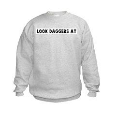 Look daggers at Sweatshirt