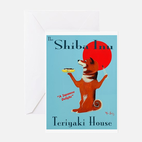 The Shiba Inu Teriyaki House Greeting Card