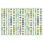 Green & Purple Modern Christmas Large Poster