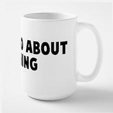Much ado about nothing Large Mug
