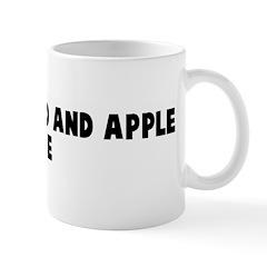 Motherhood and apple pie Mug