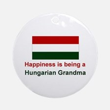 Happy Hungarian Grandma Keepsake Ornament