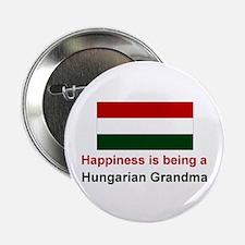 """Happy Hungarian Grandma 2.25"""" Button"""