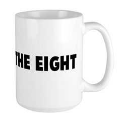 One over the eight Mug