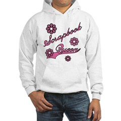 Scrapbook Queen Pink Text Hoodie