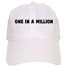 One in a million Baseball Baseball Cap
