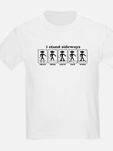 Sideways Sports Kids T-Shirt
