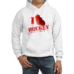 I love Hockey Hooded Sweatshirt
