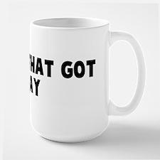 The one that got away Large Mug