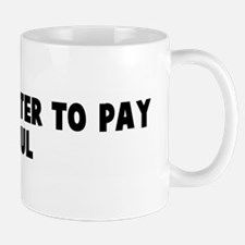 Robbing peter to pay paul Mug
