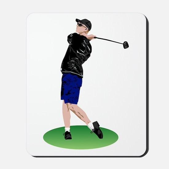 Cool Golfer Mousepad