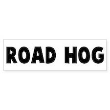Road hog Bumper Car Sticker
