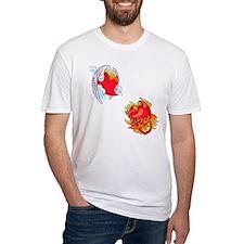 Naughty and Nice Hearts Shirt